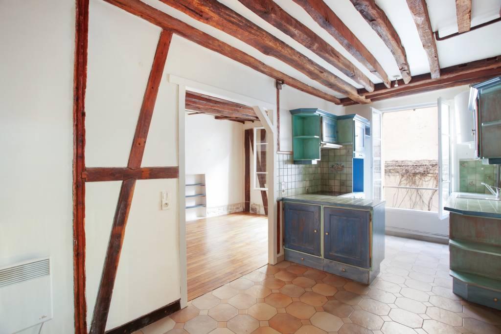 Kitchen Wooden floor Tile